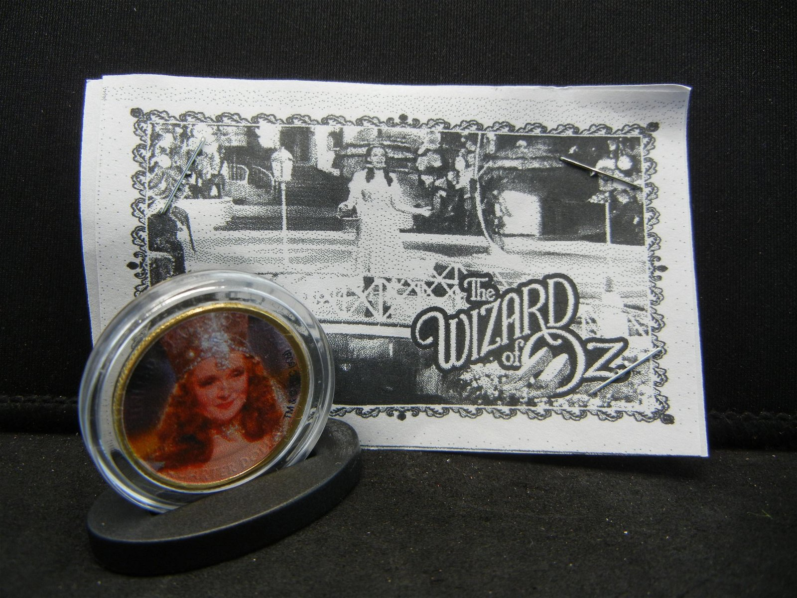 WIZARD OF OZ (THE GOOD WITCH/1939), COE/24K GOLD PLATED