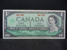 1967 Canada One Dollar Bank Note