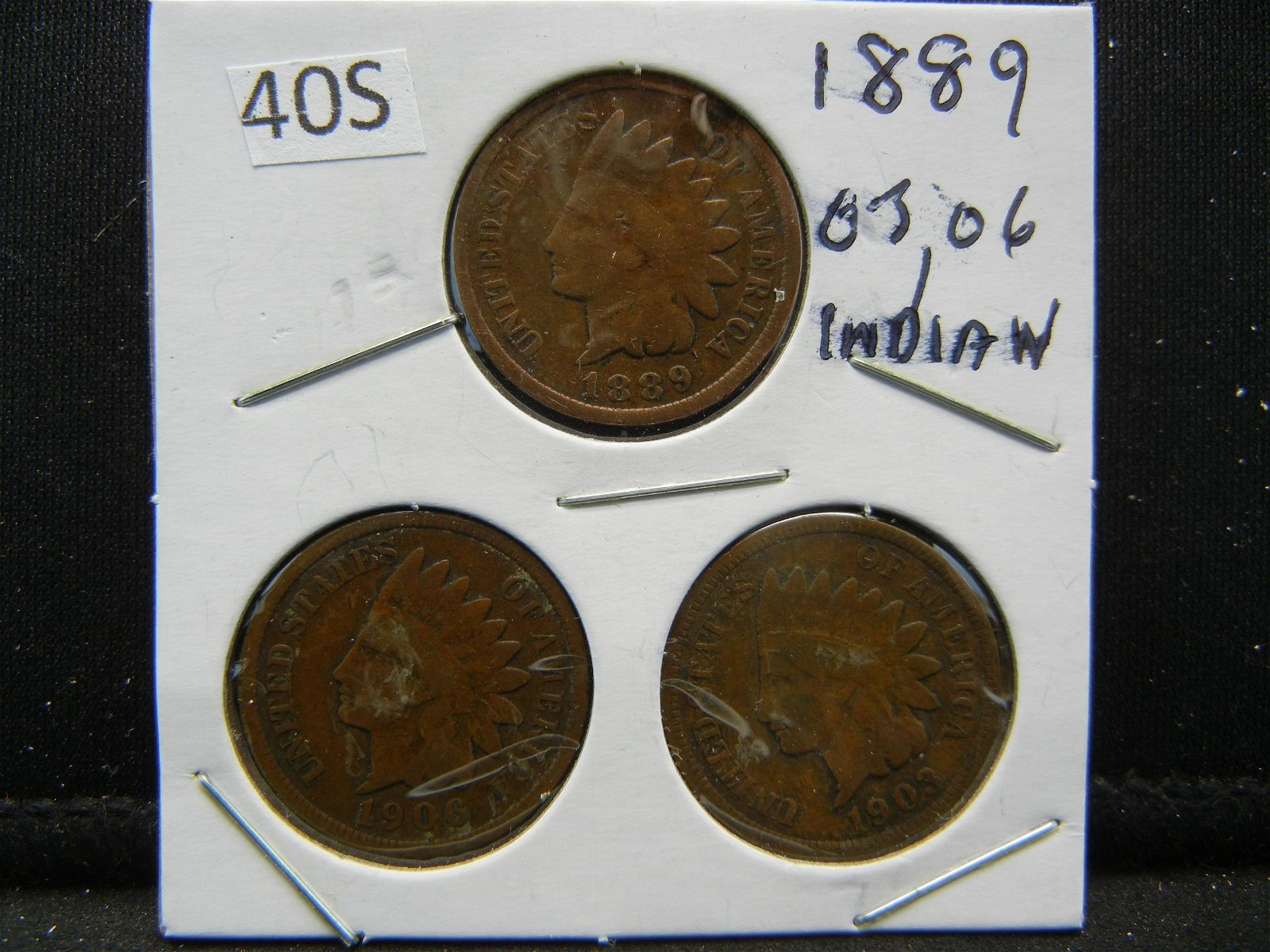 1889, 03, 06 Indian Head Cents