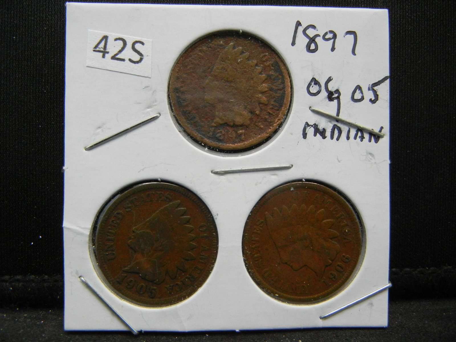 1897, 06, 05 Indian Head Cents