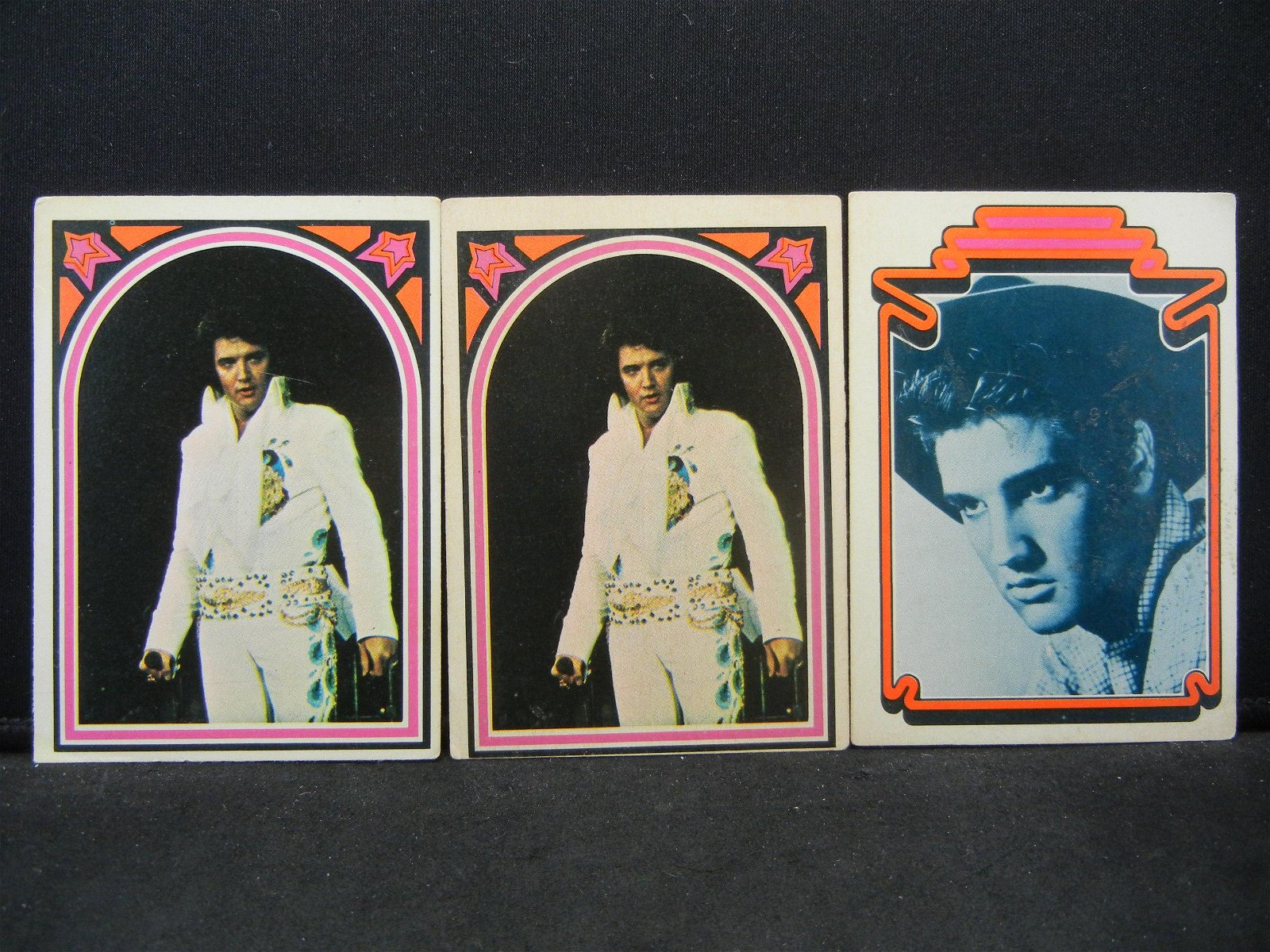 3 ELVIS in the HOUSE cards. Memphis Son!