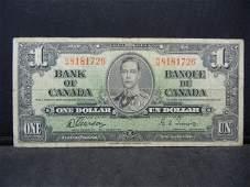 1937 Canada VINTAGE Dollar TowersGordon