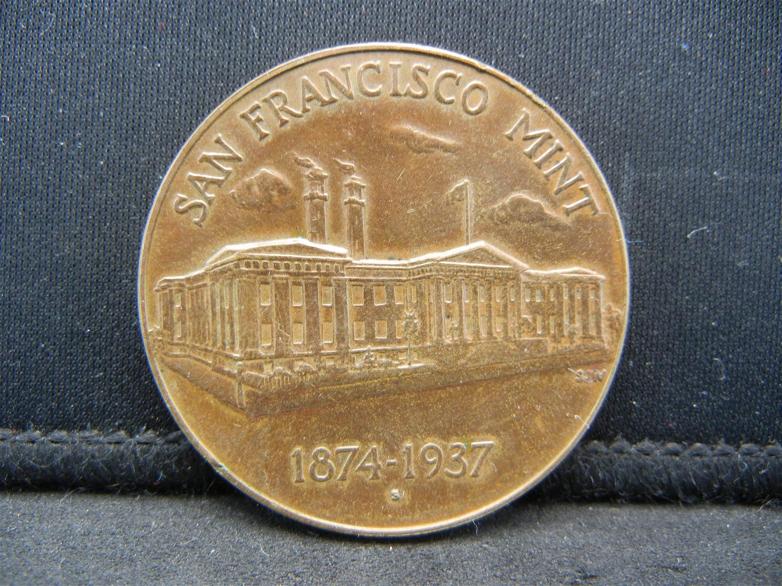 1874-1937 SAN FRANCISCO MINT, RARE FIND, 82 YEARS OLD