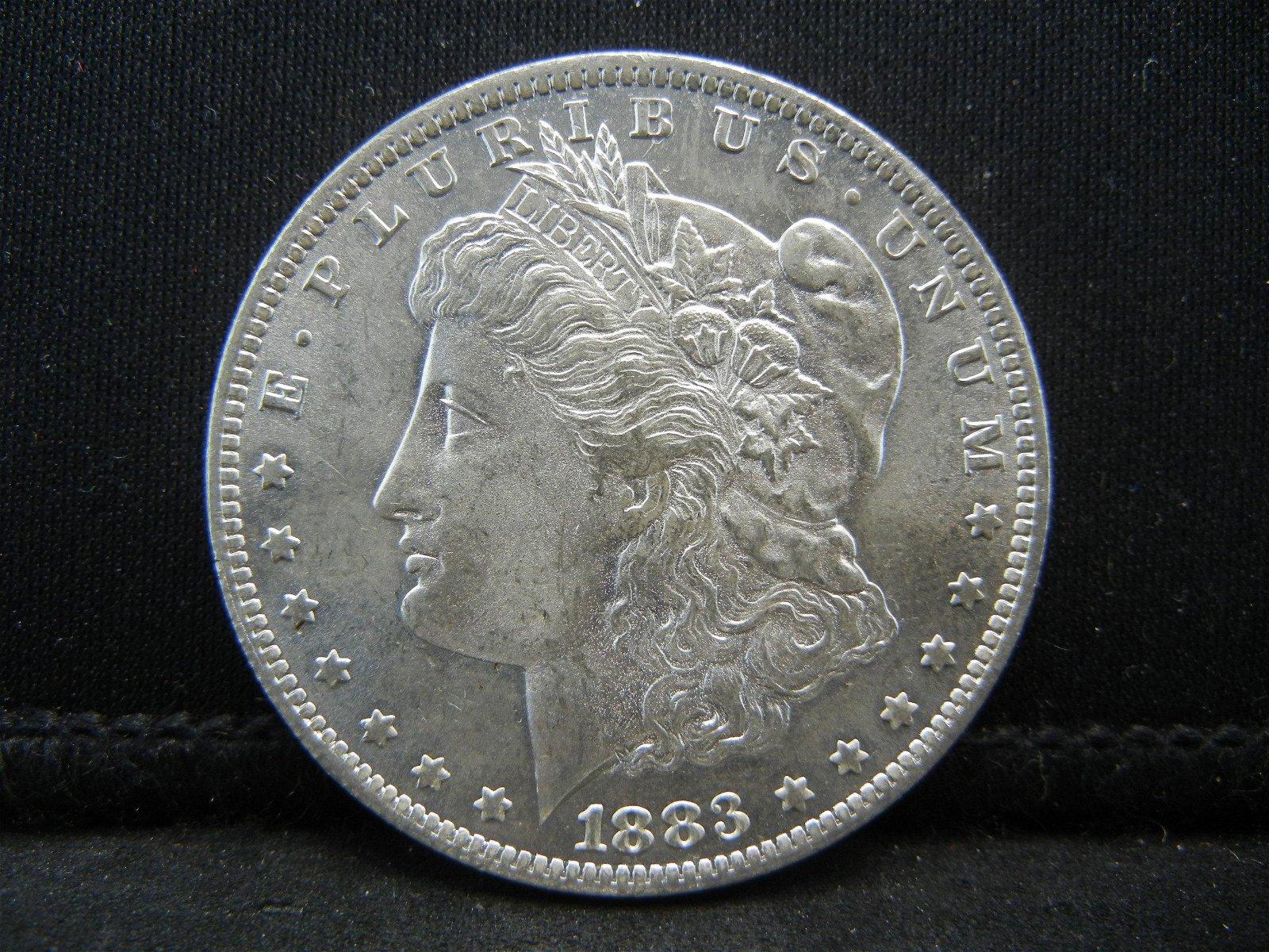 1883 O Morgan Dollar Gem BU Nice Blast White!!