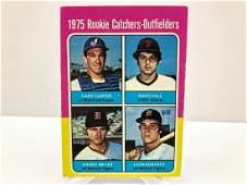1975 Topps Gary Carter 620 Rookie Card