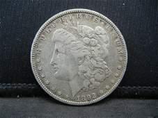 1892 Morgan Dollar Strong Details Better Date