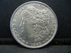 1896 S Morgan Dollar CH BU Nice!! Super Rare in High