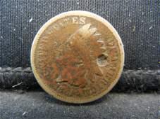 1861 CN Indian Head Cent, Civil War Year