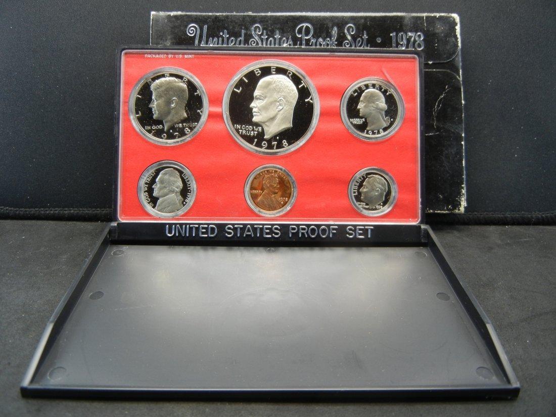 1978-S Clad Proof Set in original US Mint Package   Gem