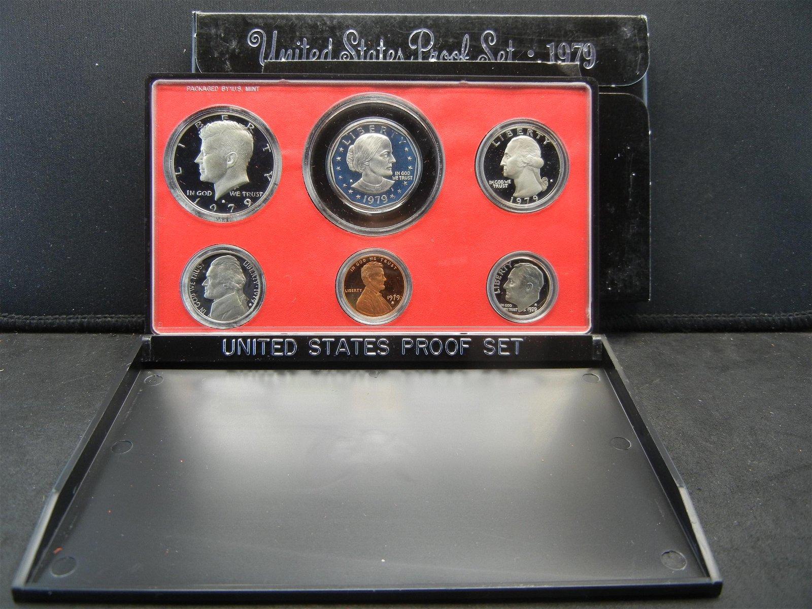 1979-S Type 1 Clad Proof Set in original US Mint