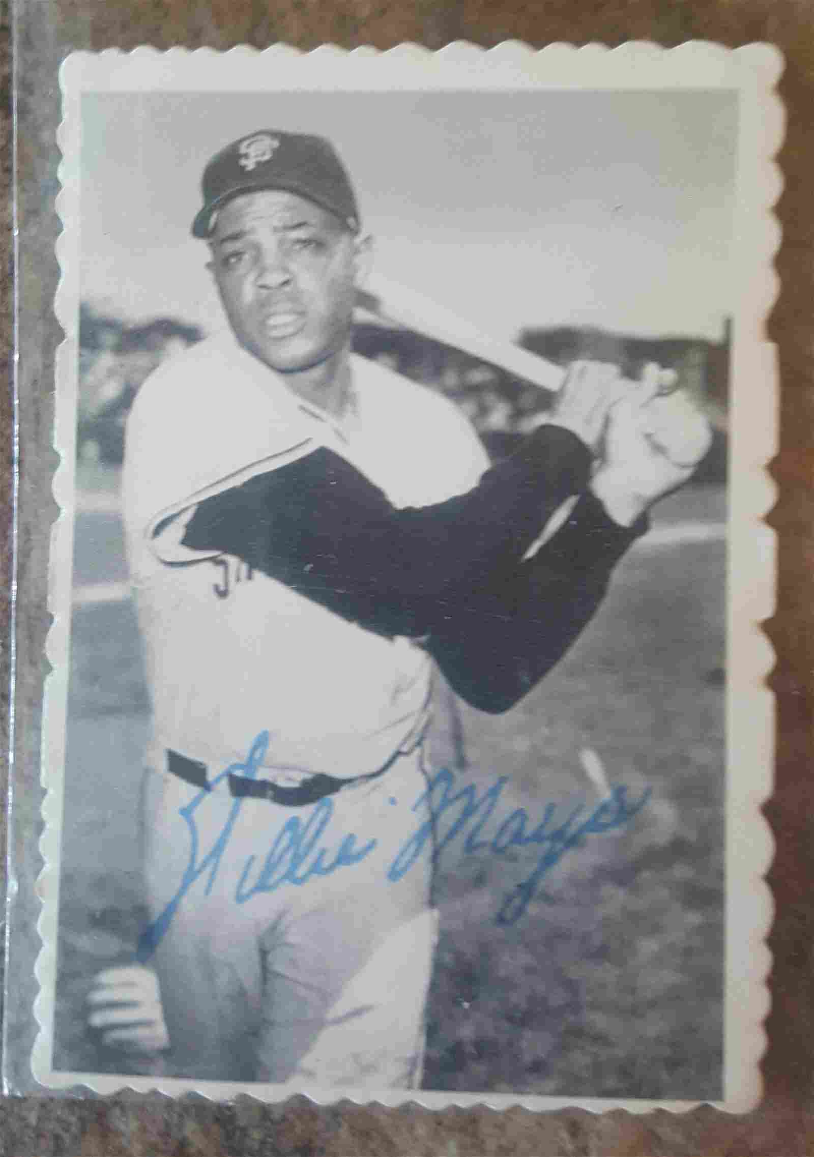 69 Topps Deckle Edge Willie Mays