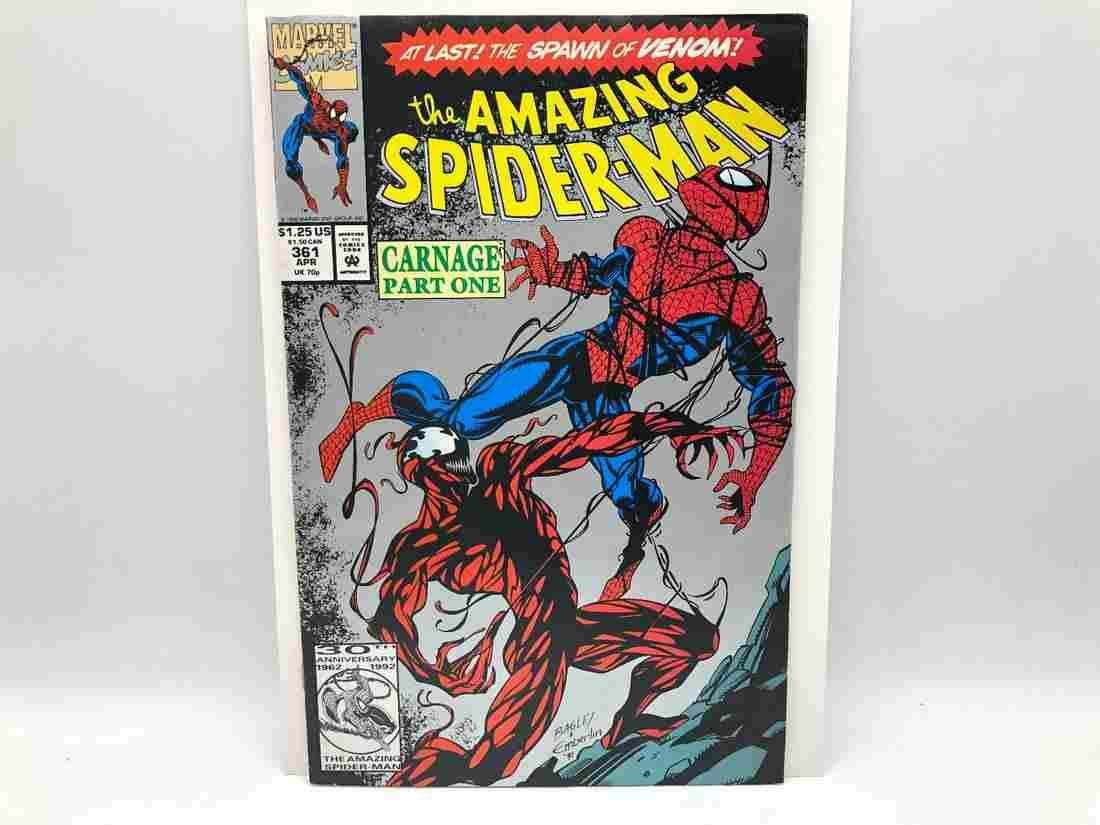 Amazing Spiderman #361 2nd Printing - 1st Full