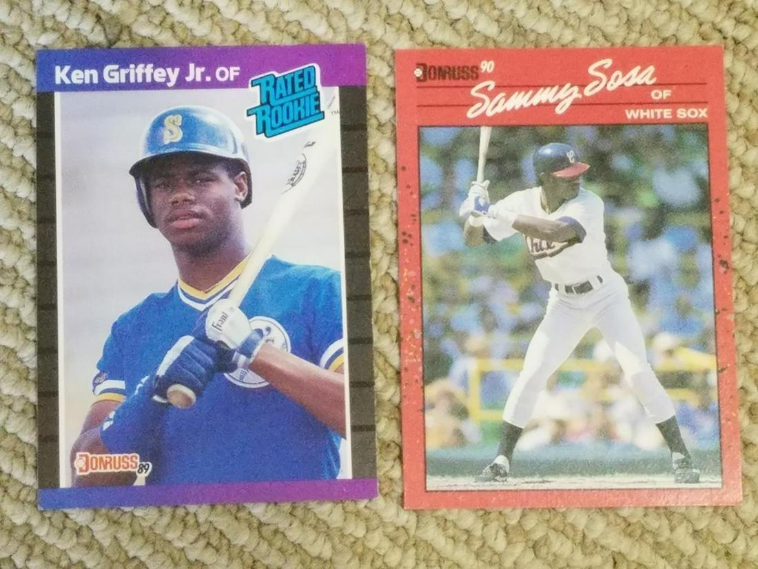 Baseball Rookie Lot of (5) w/ Ken Griffey Jr, Jose