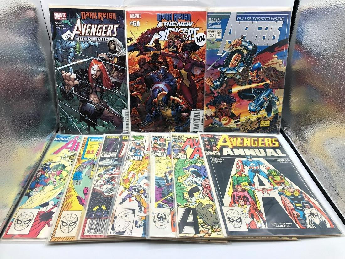 The Avengers Lot of 10 Comics