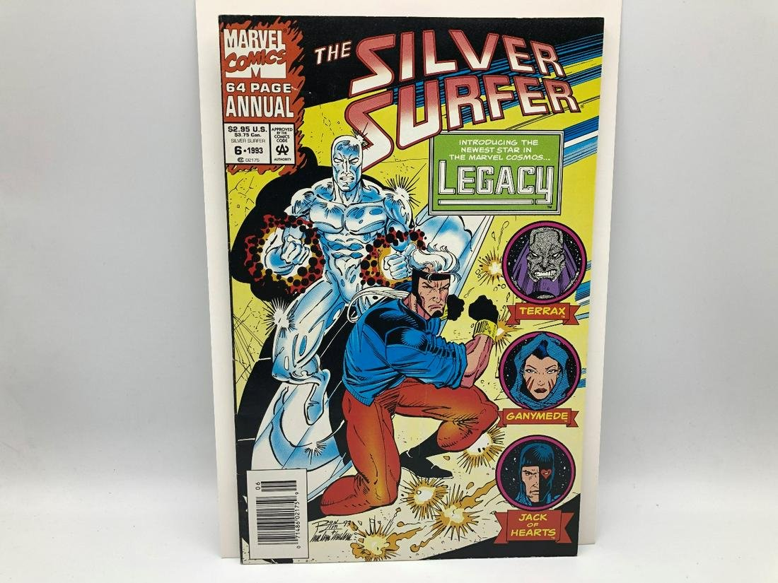 Silver Surfer #6 (1993) - First Appearance of Legacy