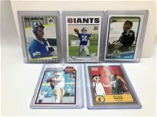 Lot of Misc Rookie Cards  Ken Griffey Jr Eli Manning