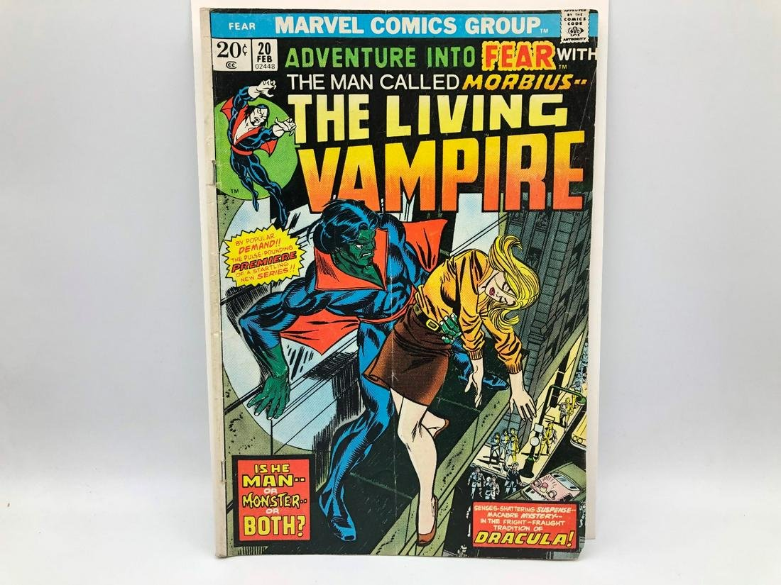 Adventure Into Fear #20 with Morbius the Living Vampire