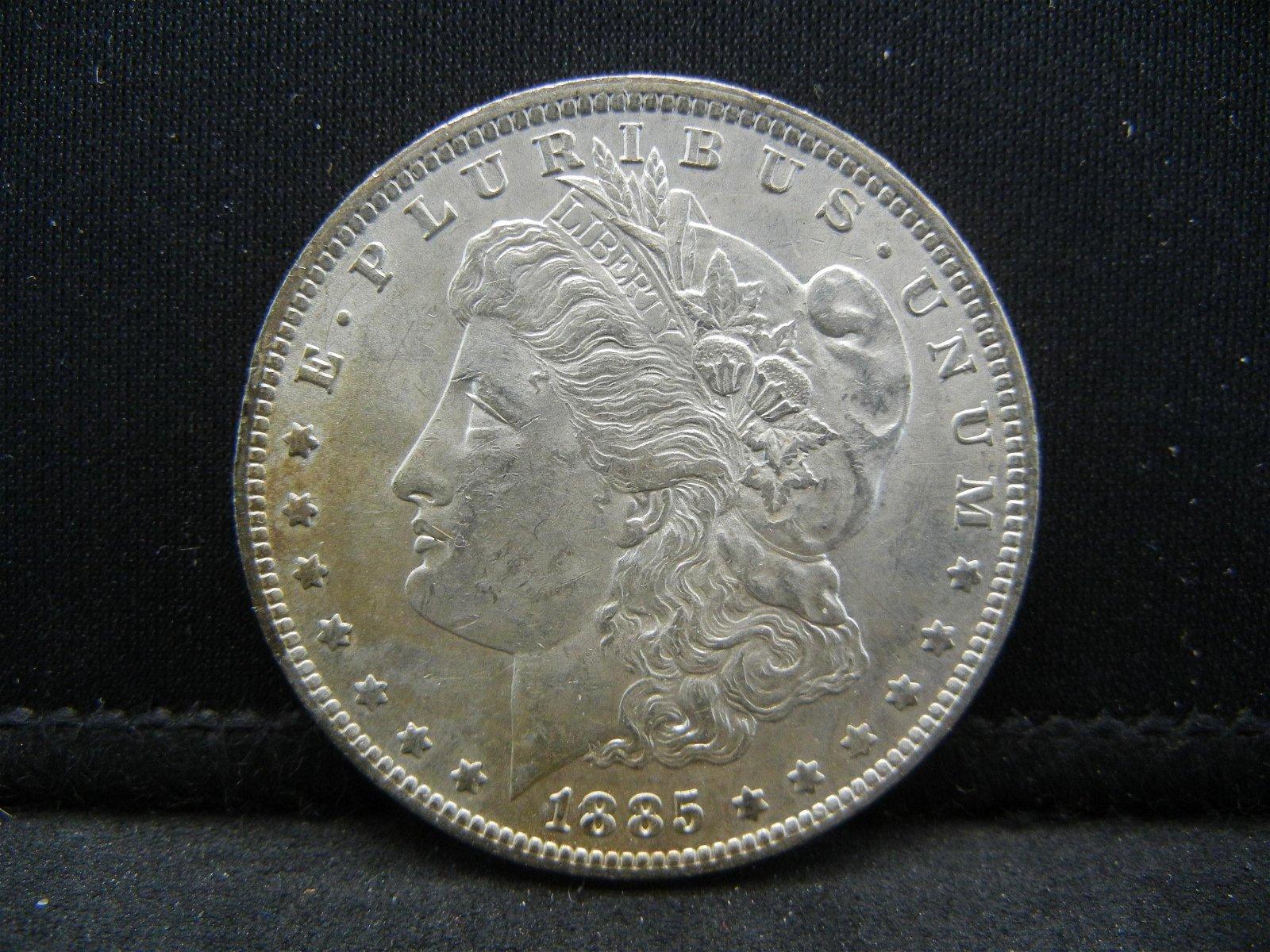 1885-O Attractive Morgan Silver Dollar. Very nice