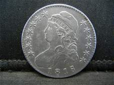 1818/7 Capped Bust half Dollar XF Nice Overdate
