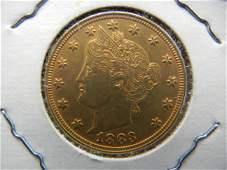 1883 Liberty V nickel Racateer Higher Grade