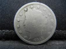 1912 S Liberty Nickel Key Date