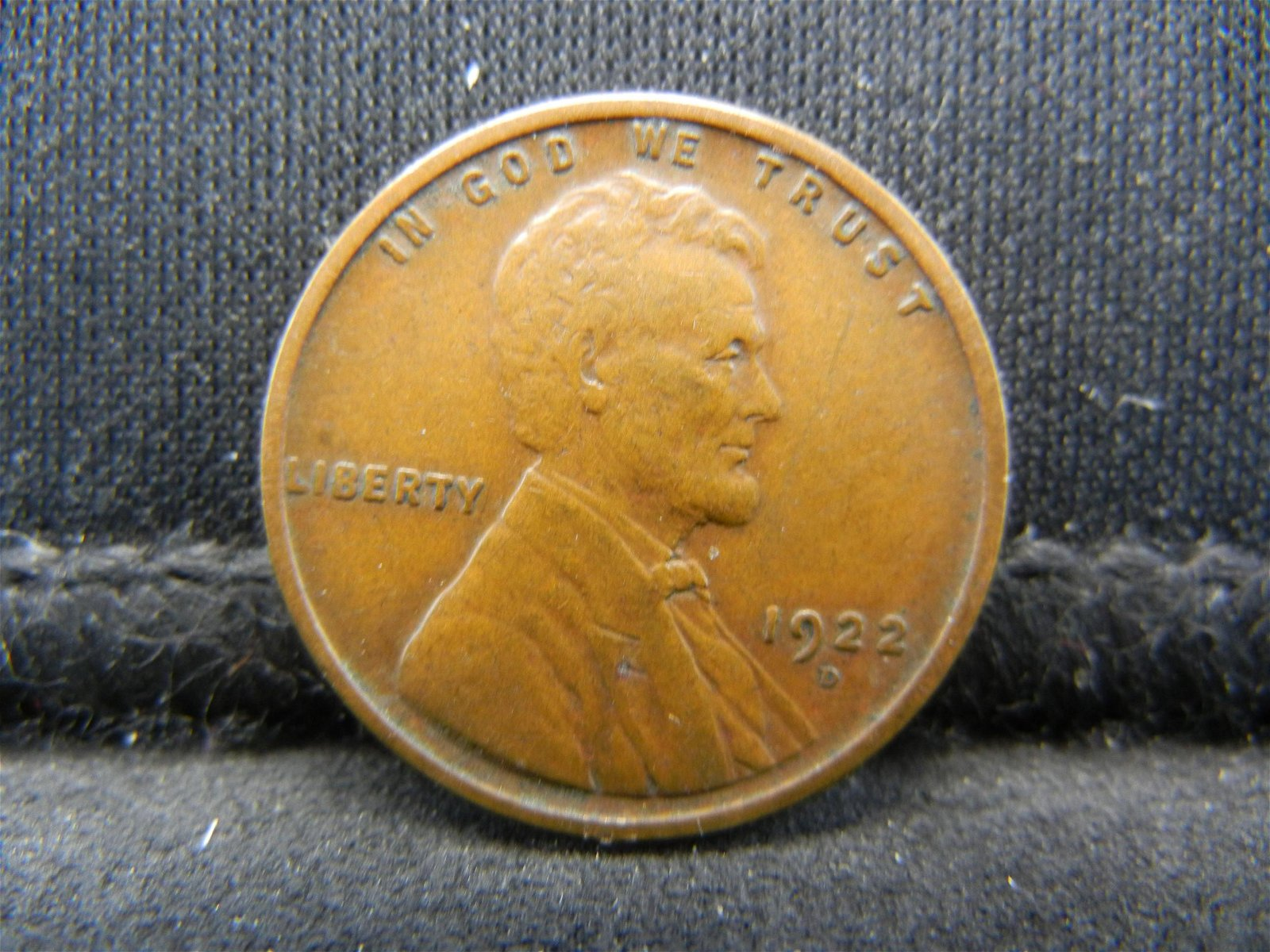 1922 D Lincoln Cent VF/XF Key Date