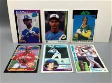 Lot of Baseball Rookie Cards  Ken Griffey Jr Randy