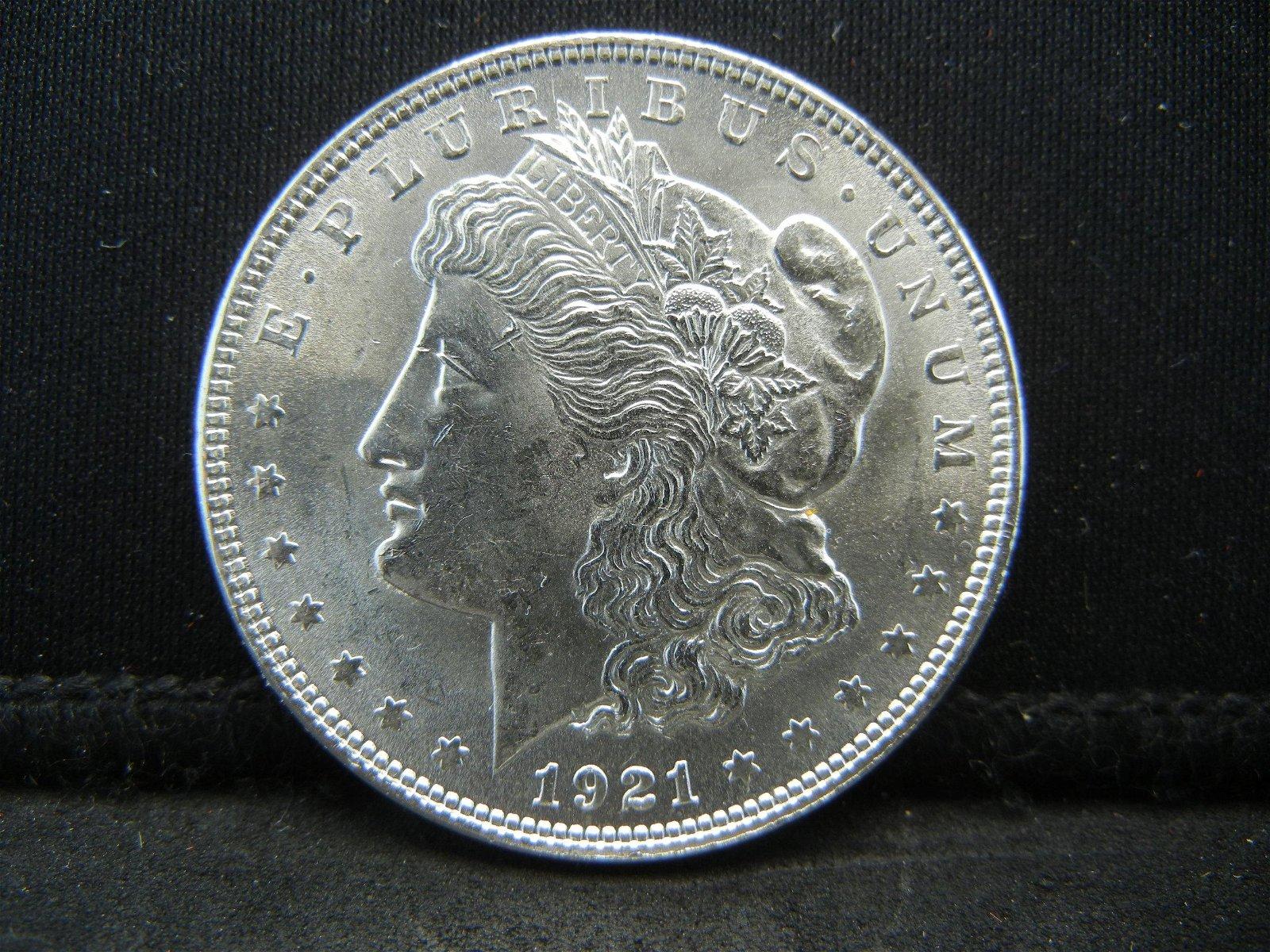 1921 Morgan Dollar Uncirculated