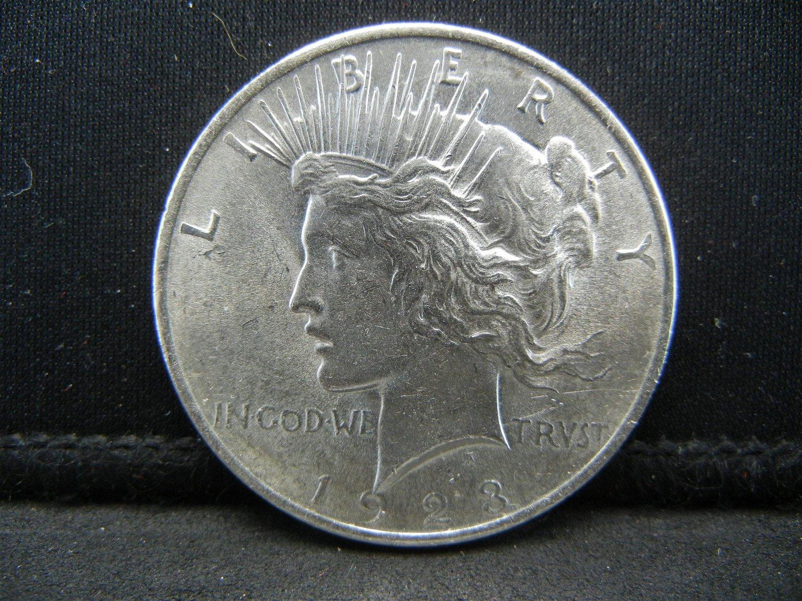 1923 Peace Dollar Uncirculated