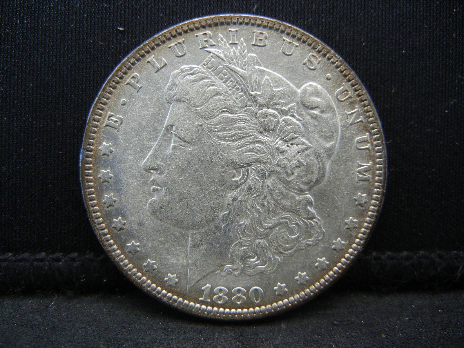 1880 O Morgan Dollar Higher Grade