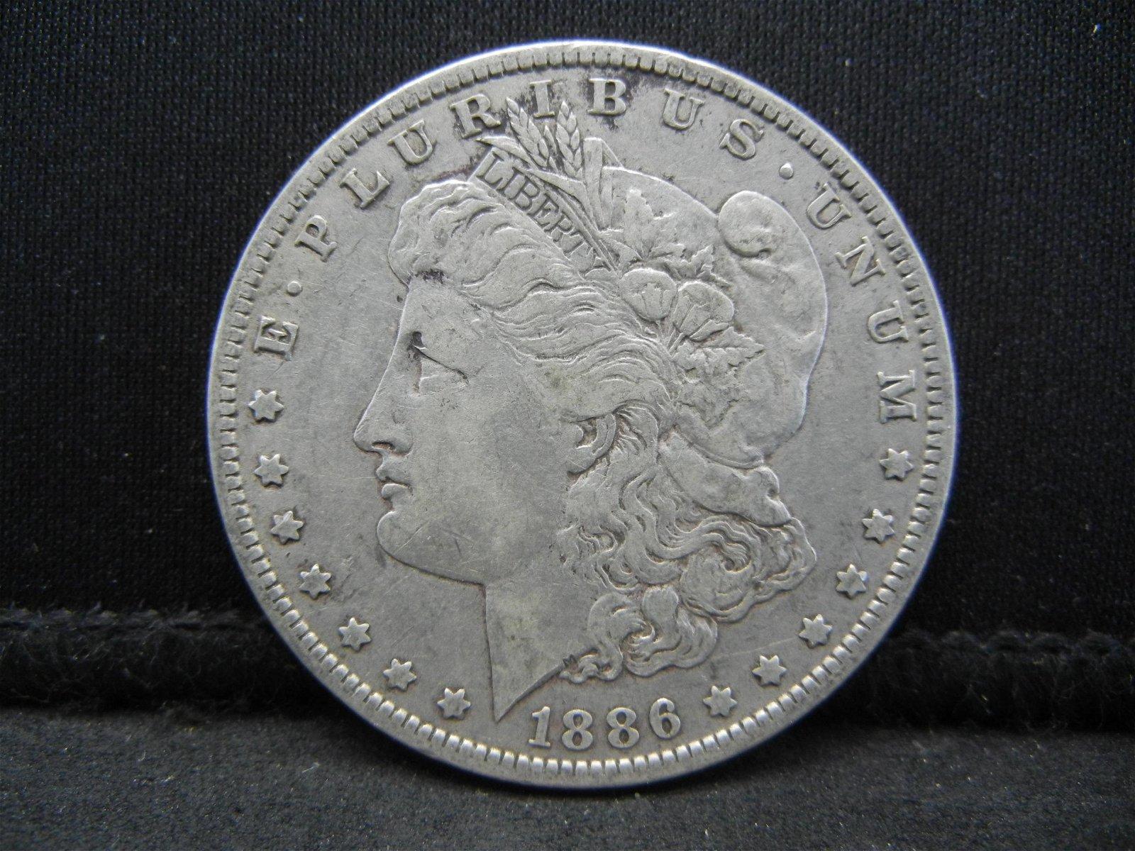 1886 O Morgan Dollar
