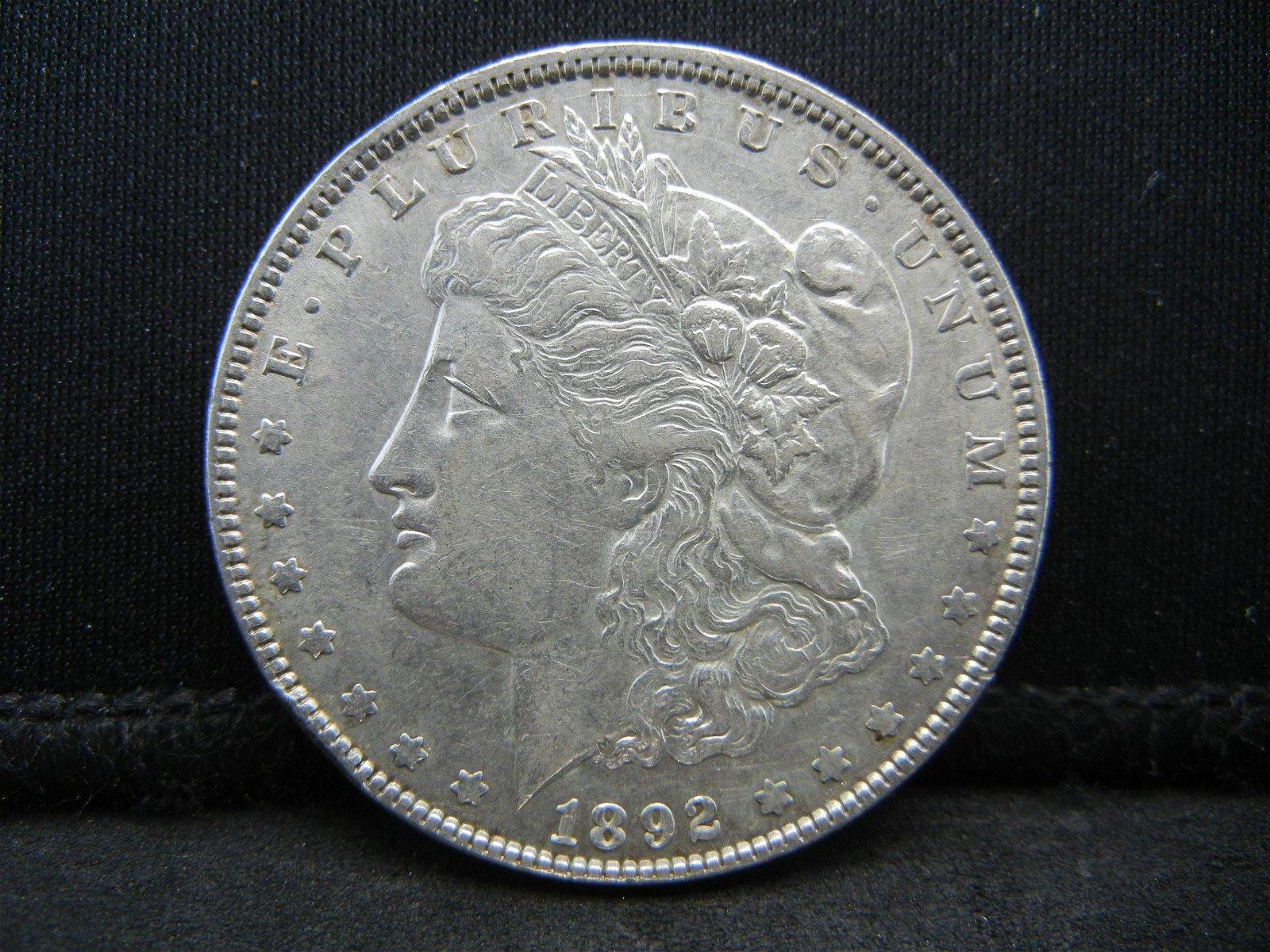 1892 Morgan Dollar Higher Grade
