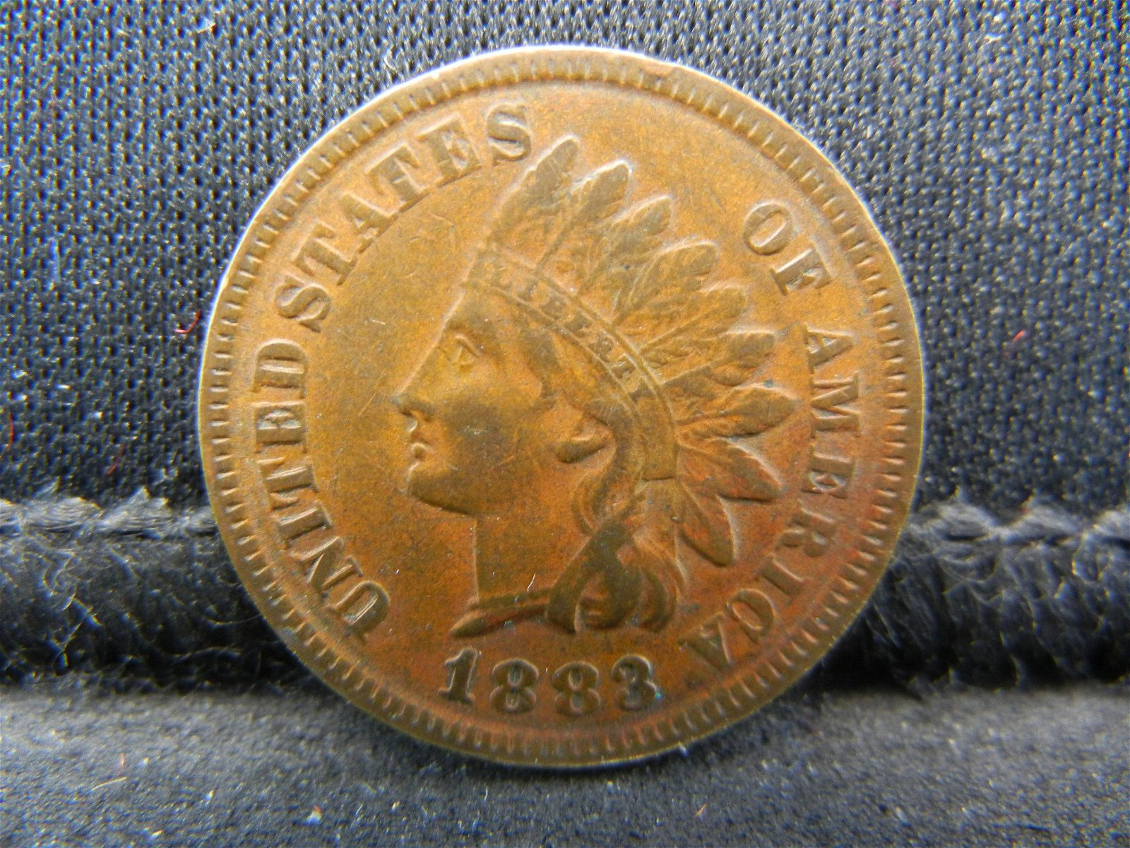 1883 United States Indian Head Penny Cent