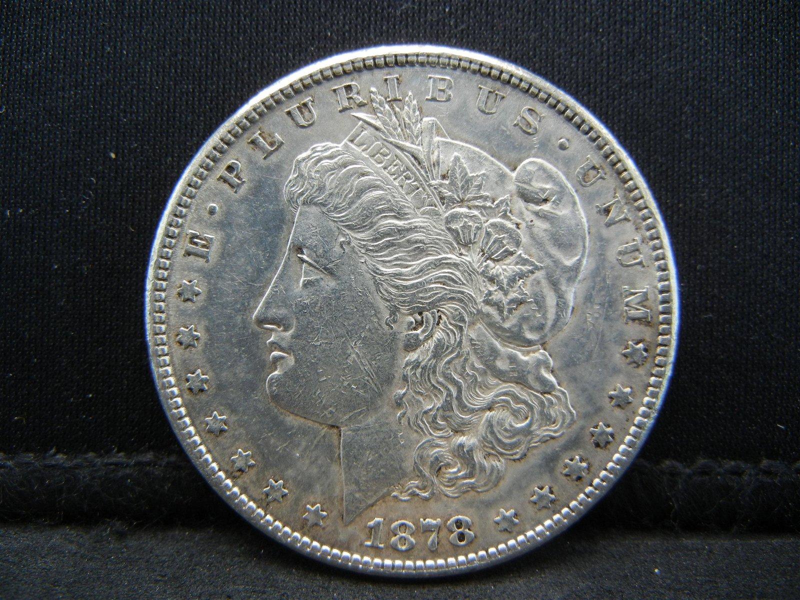 1878 S Morgan Dollar High Grade Nice