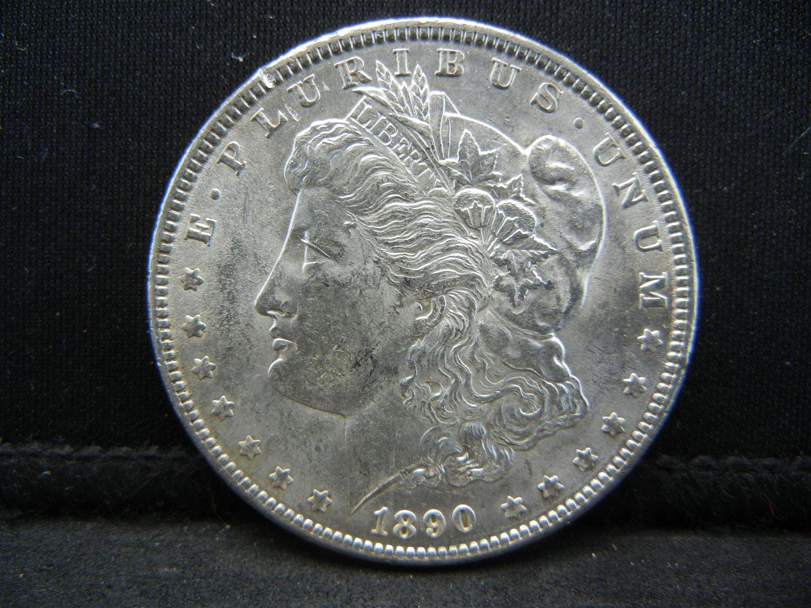1890 Morgan Dollar Strong Details