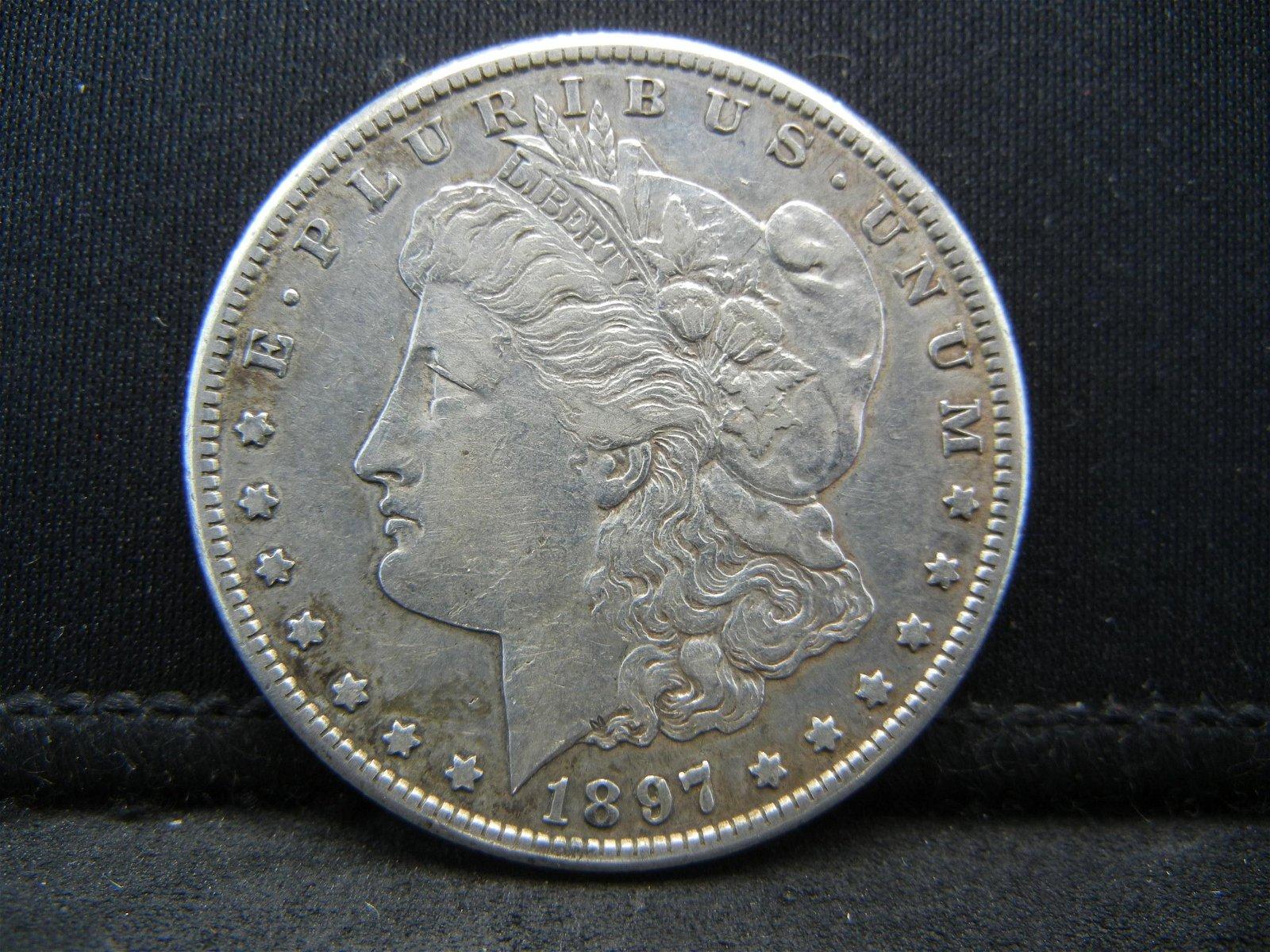 1897 S Morgan Dollar