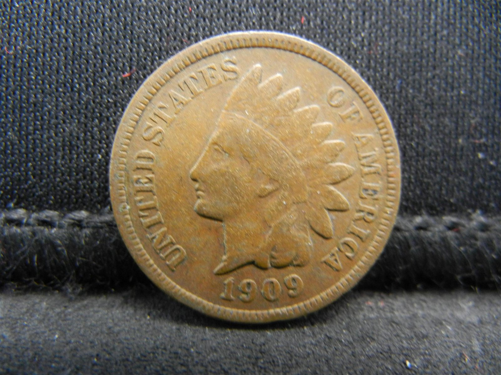 1909 United States Indian Head Penny Cent