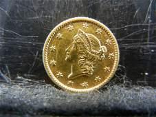 1853 $1.00 Gold Higher Grade