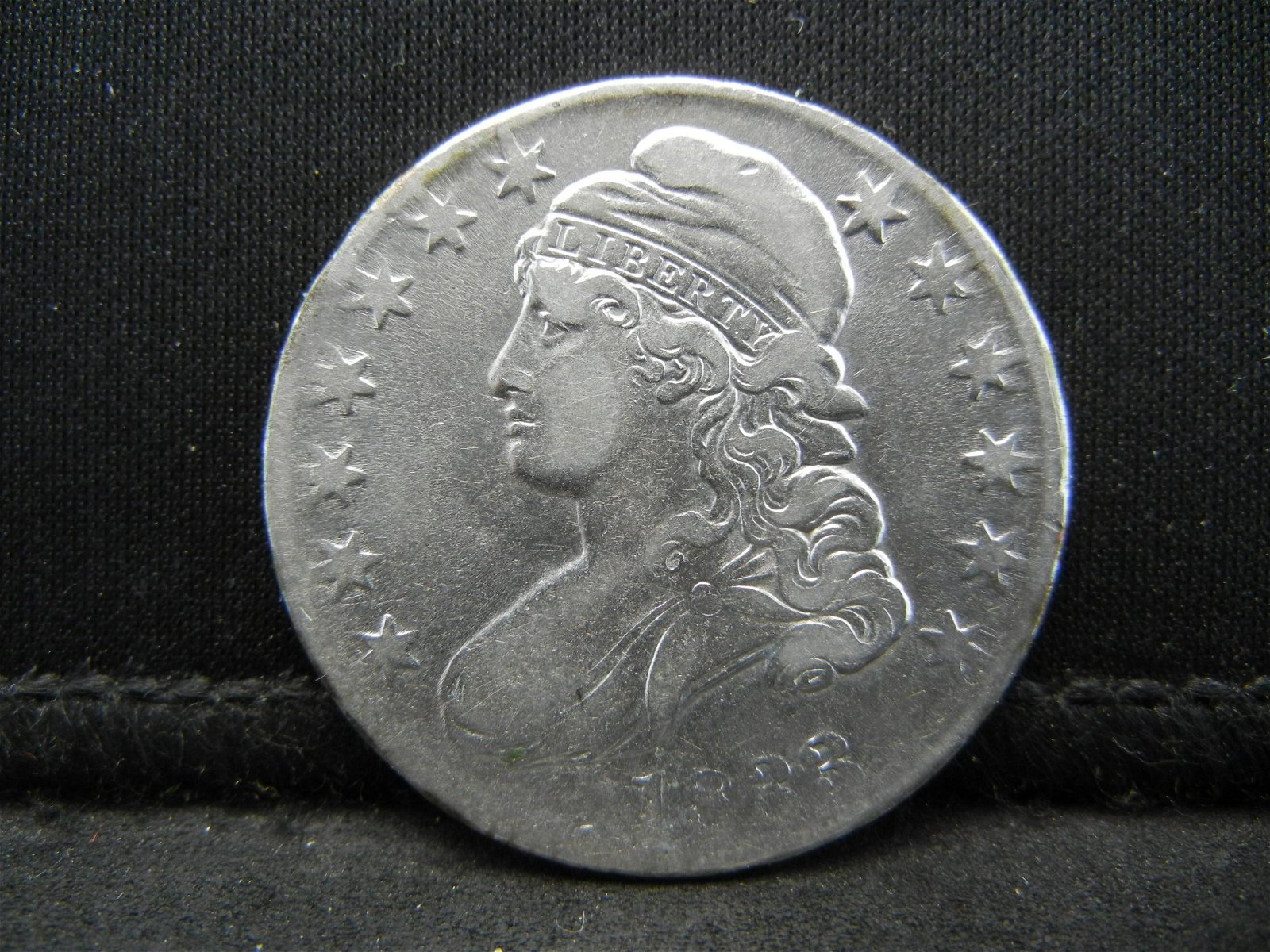 1833 Capped Bust Half Dollar XF/AU