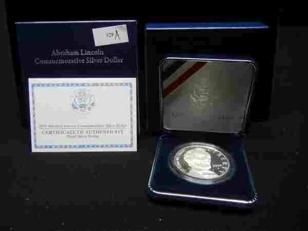2009 United States Abraham Lincoln Proof Silver Dollar