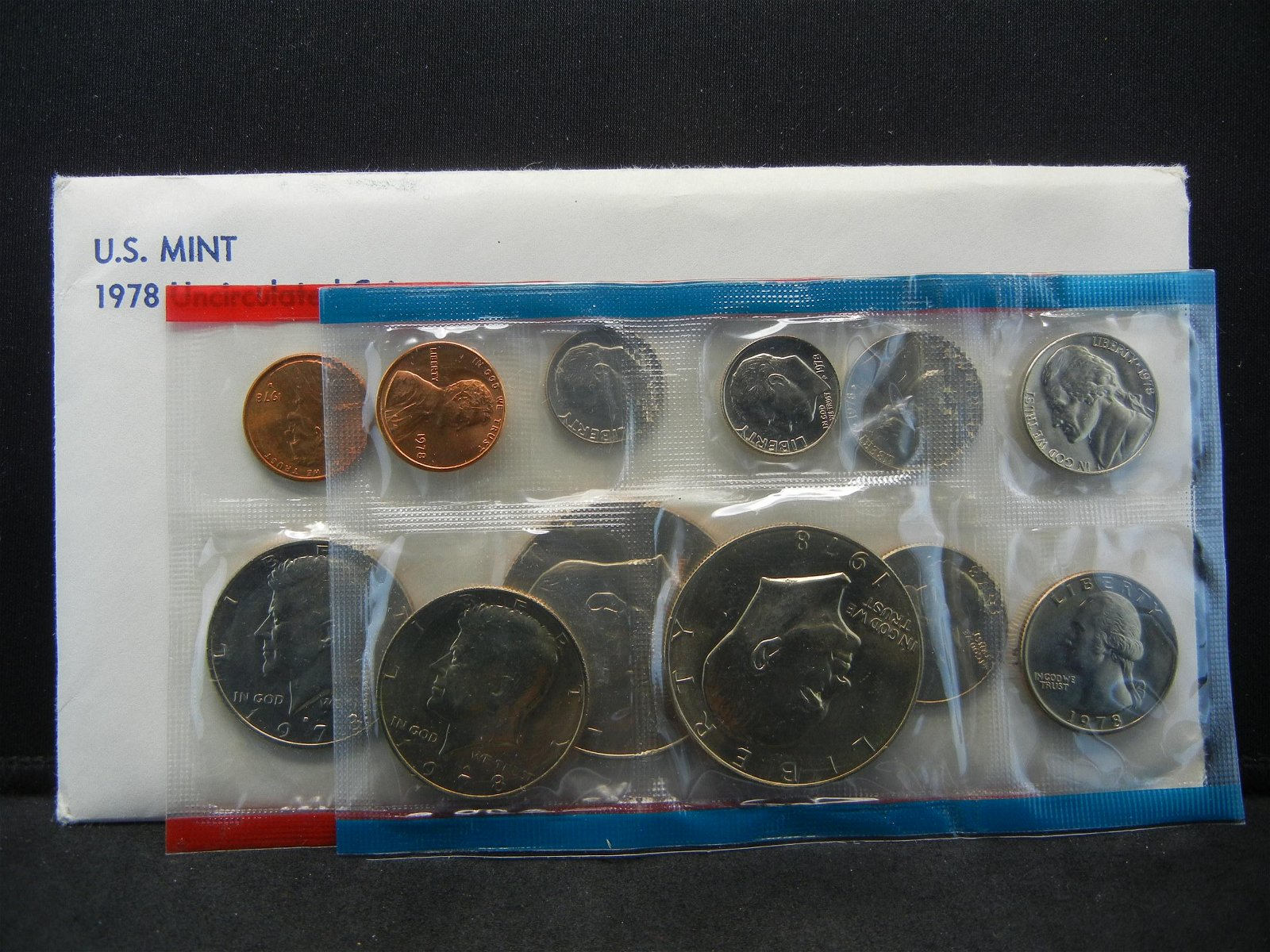 1978 P/D US Mint Set in original mint package.  12