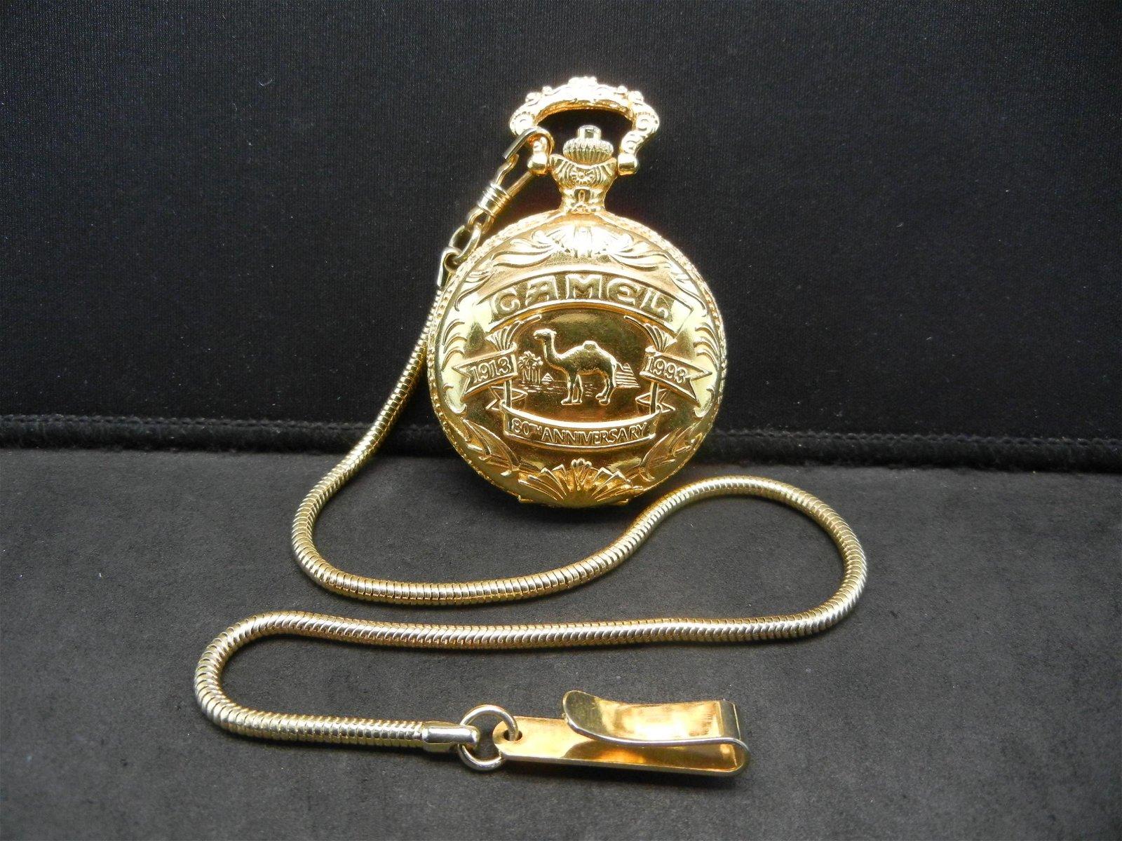 CAMEL SMOKES pocket watch.