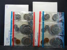 1977 & 1978 United States 12 Coin Mint Sets With