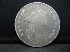 1796 Draped Bust Dollar AU Super Rare!!