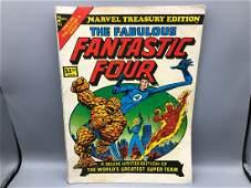 Marvel Treasury #2 - Fantastic Four Jumbo Comic Book