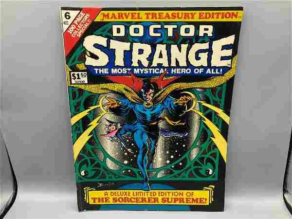Marvel Treasury #6 - Doctor Strange Jumbo Comic Book