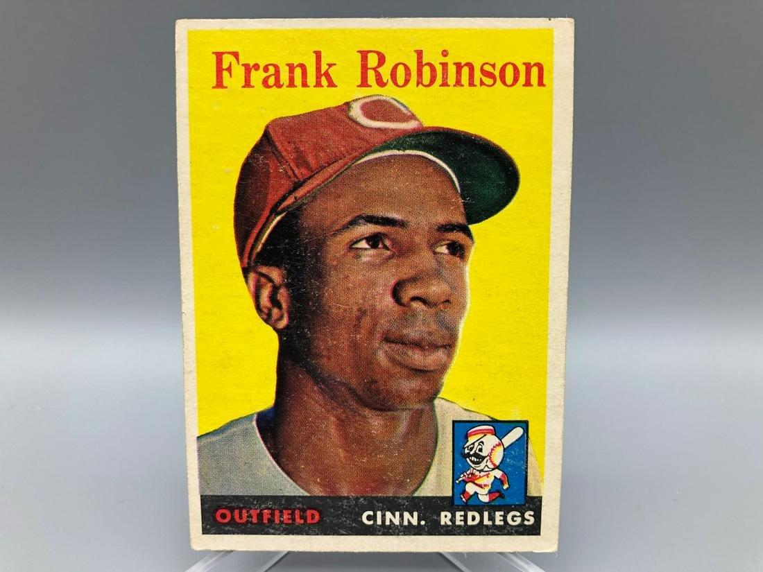 1958 Topps Frank Robinson #285
