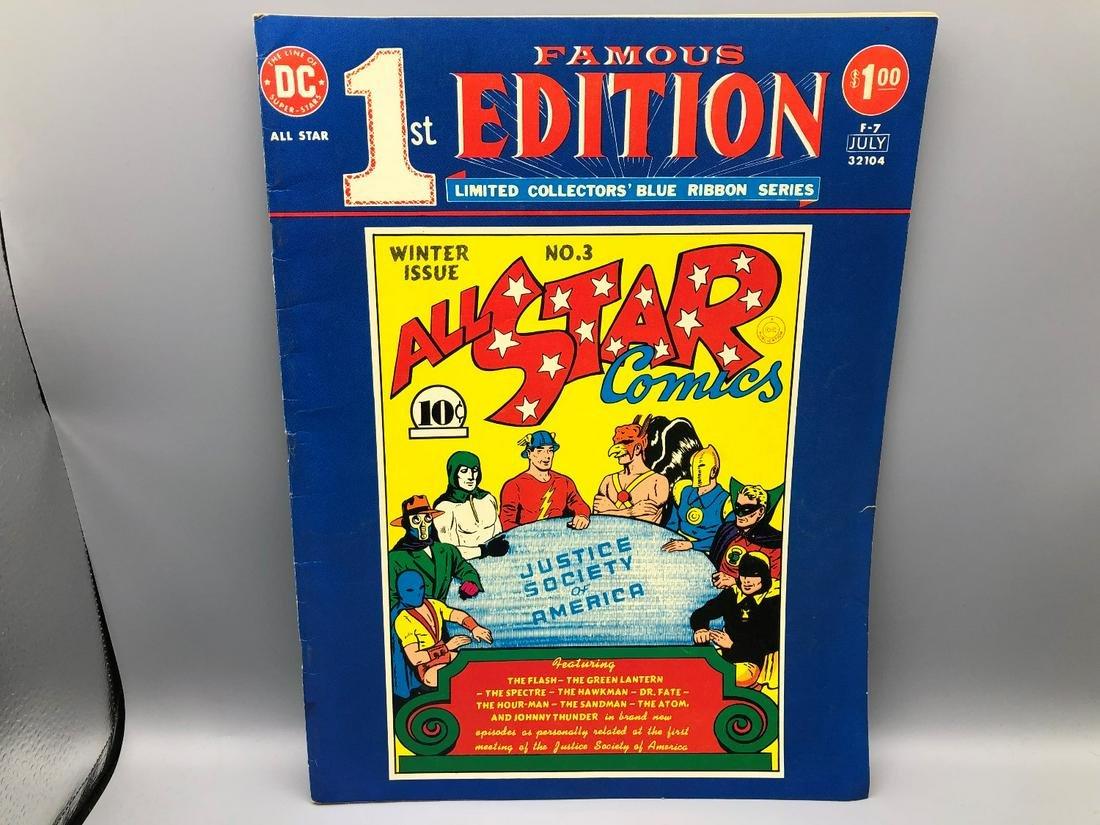 DC Treasury Famous 1st Edition Jumbo Comic Book -