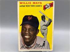 1954 Topps Willie Mays 90