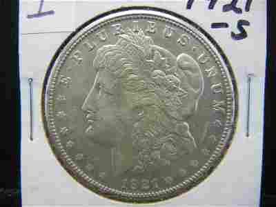 1921 S Morgan Dollar Higher Grade
